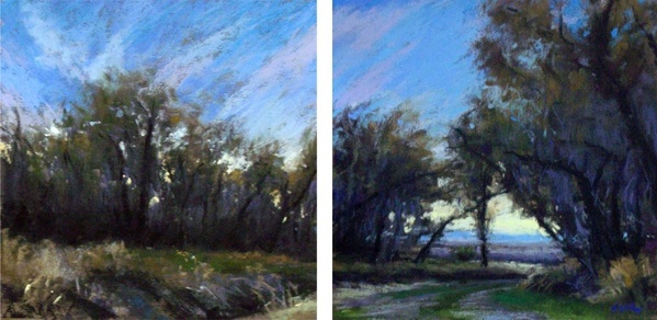 Prairie Morning Diptych