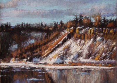 Winter on the North Saskatchewan